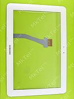Сенсорный экран Samsung Galaxy Tab 10.1 P7500 с скотчём Копия Белый