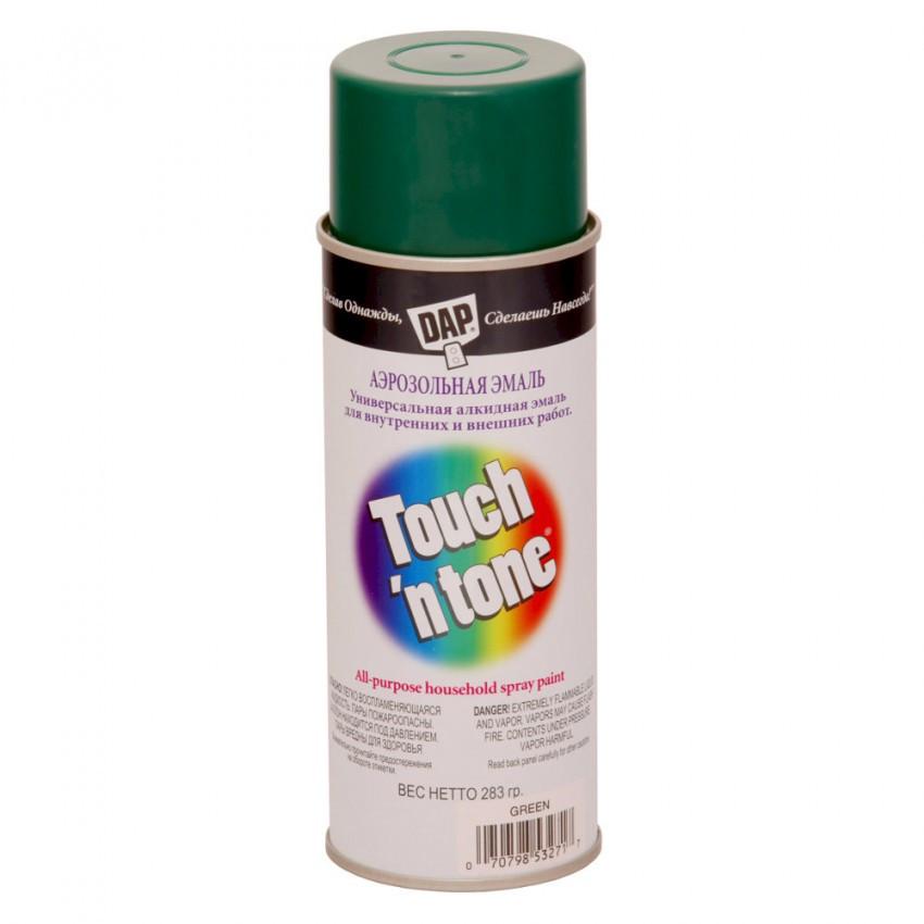Зеленая Краска аэрозольная Touch'n Tone, 283 г - Строй декор в Харькове