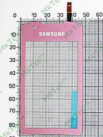 Сенсорный экран Samsung S5620 Monte Оригинал Китай Розовый