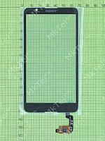 Сенсор Sony Xperia E4 dual E2115 Копия АА Черный