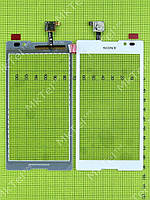 Сенсорный экран Sony Xperia C C2305 S39h Оригинал элем. Белый