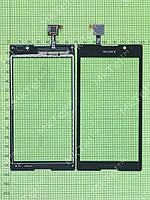 Сенсор Sony Xperia C C2305 S39h Копия АА Черный