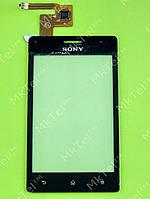 Сенсорный экран Sony Xperia GO ST27i Копия Черный