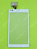 Сенсорный экран Sony Xperia L S36h C2105 Копия АА Белый