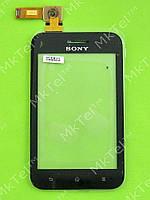 Сенсорный экран Sony Xperia Tipo Dual ST21i2 Оригинал Китай Черный