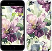 "Чехол на iPhone 6s Plus Цветы акварелью ""2237c-91"""