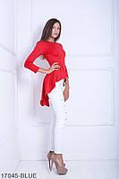 Женская блузка-туника Подіум Harmony 17045-RED S Красный