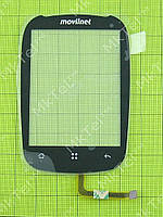 Сенсорный экран ZTE N720 Оригинал Китай Черный