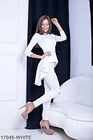 Женская блузка-туника Подіум Harmony 17045-WHITE S Белый