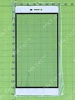 Стекло сенсора Huawei P8, белый copyAA