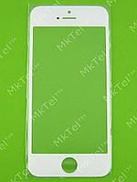 Стекло сенсорного экрана iPhone 5 Копия А Белый