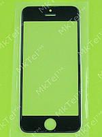 Стекло сенсорного экрана iPhone 5S Копия АА Черный