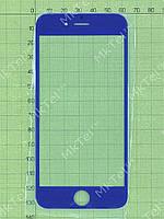 Стекло сенсорного экрана iPhone 6 Копия АА Синий