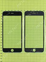 Стекло сенсорного экрана iPhone 6 plus Копия Черный
