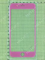 Стекло сенсорного экрана iPhone 6 plus Копия АА Розовый