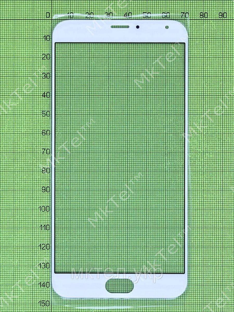 Стекло сенсора Meizu MX5, белый copyA
