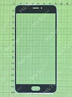 Стекло сенсорного экрана Meizu MX6 Копия АА Черный