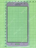 Стекло сенсорного экрана Samsung Galaxy J7 J700H Копия АА Золотистый