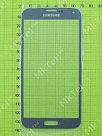 Стекло сенсор. экрана Samsung Galaxy S5 Duos G900F Копия АА Серый