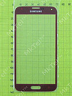 Стекло сенсор. экрана Samsung Galaxy S5 Duos G900F Копия АА Бардовый