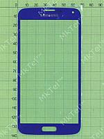 Стекло сенсор. экрана Samsung Galaxy S5 Duos G900F Копия АА Синий