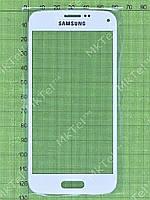 Стекло сенсор. экрана Samsung Galaxy S5 mini G800F Копия АА Белый