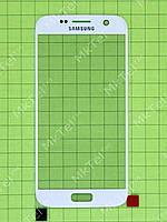 Стекло сенсор. экрана Samsung Galaxy S7 G930F Оригинал Китай Белый