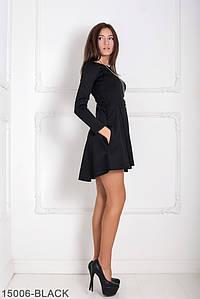 Женское платье Подіум Alay 15006-BLACK S Черный
