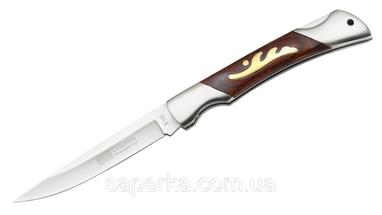 Нож многофункциональный с отверстием для темляка Columbia 140 B-COLUMBIA