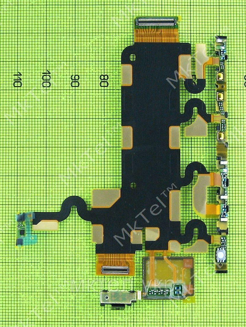 Шлейф боковых кнопок Sony Xperia Z1 C6902 в сборе, orig-china