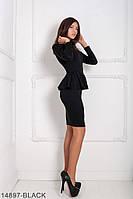 Женское платье Подіум Cranefly 14897-BLACK S Черный