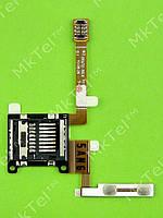 Шлейф кнопок громкости Samsung S7230 Wave 723, Оригинал #GH59-10237A