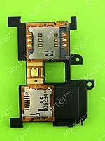 Шлейф коннектора SIM карты Sony Ericsson Xperia X10 Оригинал Китай