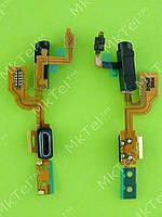 Шлейф разъема USB Nokia Lumia 925, гарнитуры, датчика приближения, orig-china