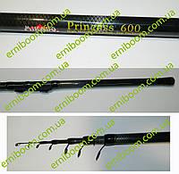 Удочка Mikado Princess 6м с кольцами карбон 10-30г