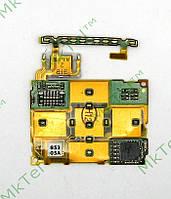 Шлейф сенсорной клавиатуры Sony Ericsson W980 Оригинал Китай