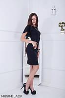 Женское платье Подіум Ravi 14650-BLACK S Черный