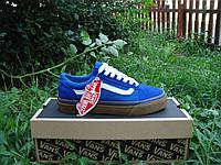 Стильные новые Мужские Кеды Vans. (ванс винтер фар) синие