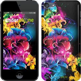 """Чехол на iPod Touch 5 Абстрактные цветы """"511c-35"""""""
