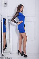 Женское платье Подіум Elder 10896-BLUE S Синий