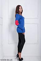 Кофти жіночі Подіум Жіноча кофта Подіум Ciderage 10359-BLUE S Синій