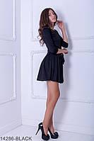 Женское платье Подіум Lablab 14286-BLACK S Черный