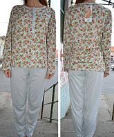 Пижамка, комплект для дома Dehai 601. 100% х/б. Размер L