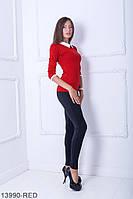 Кофти жіночі Подіум Жіноча кофта Подіум Bladder 13990-RED S Червоний