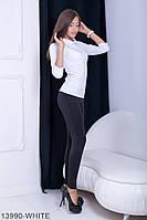 Кофти жіночі Подіум Жіноча кофта Подіум Bladder 13990-WHITE S Білий