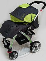 """Коляска детская """"DolcheMio"""" OPT-S-SH270  (алюминиевая рама,очень прочная и легкая,в комплекте-чехол для ног,дождевик,маскитная сетка,вместительная"""