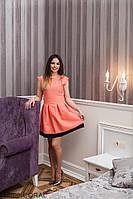 Женское платье Подіум Bucida 12100-CORAL S Персиковый