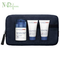 Clarins Men Baume Super Hydratant - Набор (Крем Men Baume Super Hydratant 50ml * Shampooning 30ml * Nettoyant Visage 30ml)