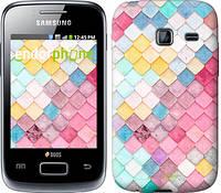 "Чехол на Samsung Galaxy Y Duos S6102 Красочная черепица ""3703u-251"""