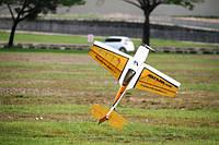 Самолёт р/у Precision Aerobatics Katana Mini 1020мм ARF (желтый)